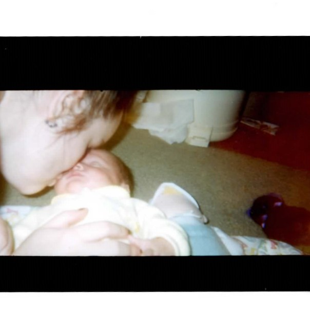 Westley Was premature. this was his first day home from the hospital. — in Fairfax, Virginia. October 30, 1998